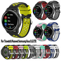 22mm Sport Silicone Replacement Wristband Band Strap for Garmin Vivoactive 4 New
