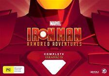 Iron Man Armored Adventures : Season 2 (DVD, 2015, 4-Disc Set)