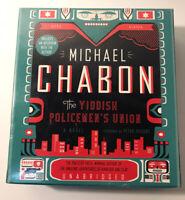 THE YIDDISH POLICEMEN'S UNION by Michael Chabon (2007, CD, Unabridged Audiobook)