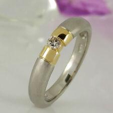Unbehandelte Markenlose Ringe mit Diamanten