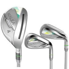 TaylorMade Golf Women's Kalea Hybrid Iron Set (4-5h-6-7T, 8-PW, SW), Graphite