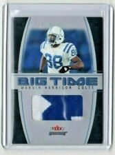 2004 Fleer Genuine Big Time Black <ERROR> MARVIN HARRISON patch insert [NrMt-Mt]