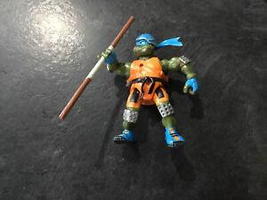 tmnt teenage mutant ninja turtles Vintage Leonardo Figure With Weapon