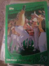 2013 Topps Emerald #334 Derek Norris Oakland Athletics