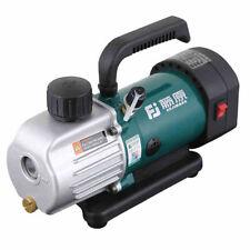 Rotary Vane Vacuum Pump Single Stage 1.8CFM 1/6HP Air conditioning pump 220V