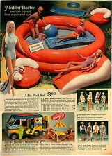 1974 PAPER AD 5 Pg Barbie Malibu Dinah-mite Dusty Pinto Beach Bus Bike Jet Pilot