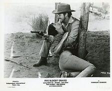 ROBERT DIX JIM DAVIS PAULA RAYMOND FIVE BLOODY GRAVES 1969 6 PHOTOS ORIGINAL LOT