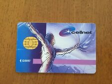 RETRO CELLNET SECURICOR CELLULAR SERVICES PHONECARD