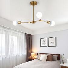 Modern Flush Mount Ceiling Light Gold Chandelier Lighting Office Pendant Light