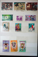 China Stamps And Reprints From the 1950's To 80's