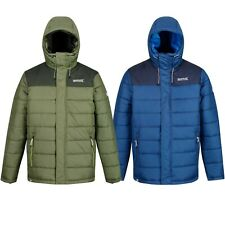 Mens Winter Jacket Hiking Outdoor Work Padded Insulated Warm Coat Hoodie Nevado