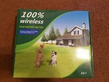 New listing JustPet Wireless Electric Dog Fence