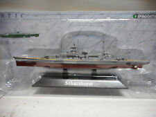 ACORAZADO WARSHIP SCHARNHORST 1939-41 + U-BOOT 1:1250 ATLAS De AGOSTINI #02