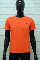 Maglia US POLO ASSN Uomo Taglia Size M Maglietta Shirt Man Manica Corta Cotone