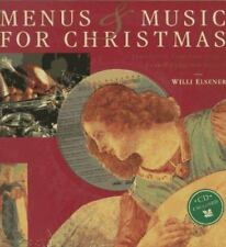 Music and Menus for Christmas by Willi Elsener (1996, Hardcover)