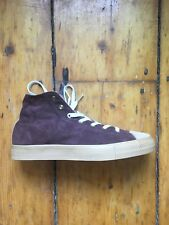 KOLOR japan sneakers high top shoes suede NEW NWOB mr. porter end $600 US 9.5