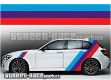 BMW Rayas 010 Gráficos Pegatinas Calcomanías de carreras M Power M Sport 1 2 3 4 5 Series