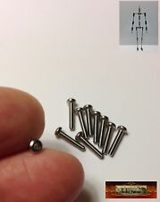 M01281 MOREZMORE HPA 10 M2x10mm M2 Hex Button Screws Bolts Stainless Steel T20A