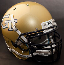 *CUSTOM* GEORGIA TECH YELLOW JACKETS Schutt XP GAMEDAY Replica Football Helmet