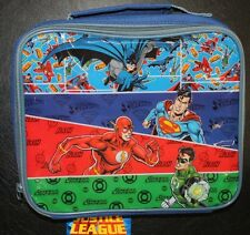 JUSTICE LEAGUE INSULATED LUNCH BAG NURSERY SCHOOL PICNICS OUTINGS HOLIDAYS BNWT