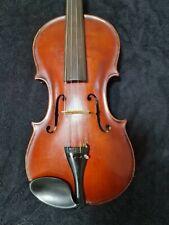 Französische alte Meistergeige old Violin Inschrift. Lyon 1900 Glophi Poirson