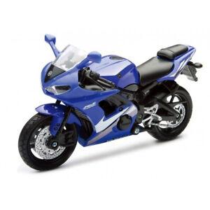 NEW67003B - Moto sportive de couleur Bleue - YAMAHA YZF R6 -  -