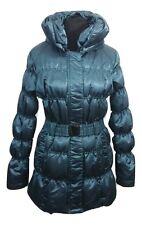 Philosophy Blues Original Manteau Taille 8 Bleu Sarcelle Down Feather Outdoors Ski Active