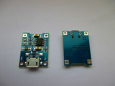 2x Lipo Lion Mini usb topologie 5v 1a 18650 avec circuit de protection tp4056 te420