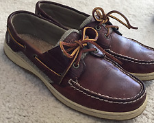 Women's Sperry Top-Sider BlueFish Leather  Boat Shoe  Sz. 9 M