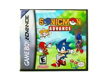SonicMon Pokemon Fire Red Hack Sonic the Hedgehog - GBA Nintendo Gameboy Advance