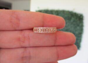 .33 CTW Diamond Ring 18k Rose Gold JS37R sep