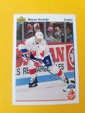 1991-92 Upper Deck Hockey #13 Wayne Gretzky Canada Cup