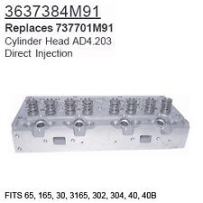 3637384M91 Massey Ferguson Parts Cylinder Head Ad4.203 65, 165, 30, 3165, 302, 3