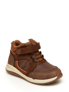New Munchkin by Stride Rite Maple Boys Hiker Toddler Ankle Boots Sz 9-12