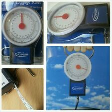 LUGGAGE SCALES PORTABLE BAGGAGE SCALES WEIGHS UPTO 22 Kg 50lb Tape 1m