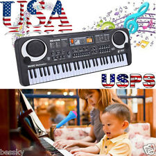 61 Keys Digital Music Electronic Keyboard Key Board Child Electric Piano Gift US