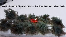 1,2cm Hoch 1,5cm Durchmesser Vickto Büsche 18 Stück N//Z Mischung ca