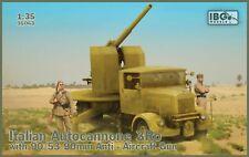 Ibg Models 1/35 Italian Autocannone 3Ro with 90/53 90mm Anti-Aircraft Gun
