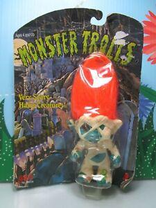 "MUMMY MONSTER - 1993 - 4"" Galoob/Ace Troll Doll on card"