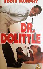 Dr. Dolittle VHS Video Tape PAL UK 1998 (PG) - Eddie Murphy - Great Family Film