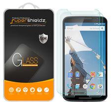 2X Supershieldz Tempered Glass Screen Protector For Motorola Google Nexus 6