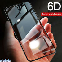 For iPhone X 7 8 6 Plus 6D Full Cover Edge Tempered Glass Screen Protector Film