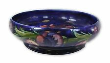 Stunning Moorcroft Large Footed Bowl - Big Poppy Design - Made in England.
