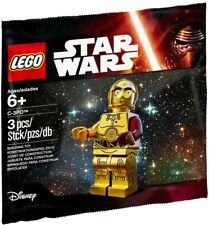 2015 Lego Star Wars C-3Po 5002948 Minifigure Polybag, New & Sealed!