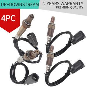 4PCS O2 Lambda Oxygen Sensors Upstream and Downstream For Toyota Tundra 2010-14