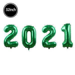"40/32/16"" Color 2021 Digital Balloon Helium HAPPY NEW YEAR party Decor 4 pcs/set"