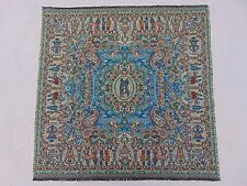 Persian Tapestry Art Silk Termeh Paisley Tablecloth Wall Hanging Collectible Rug