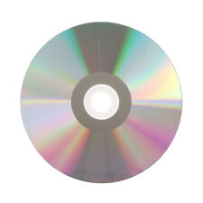 1000 Grade A 52X Shiny Silver Top Blank CD-R CDR Disc Media 700MB