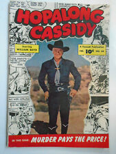 Hopalong Cassidy #44, Very Fine, 8.0, White Pages