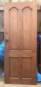 Wooden Door NO KEY
